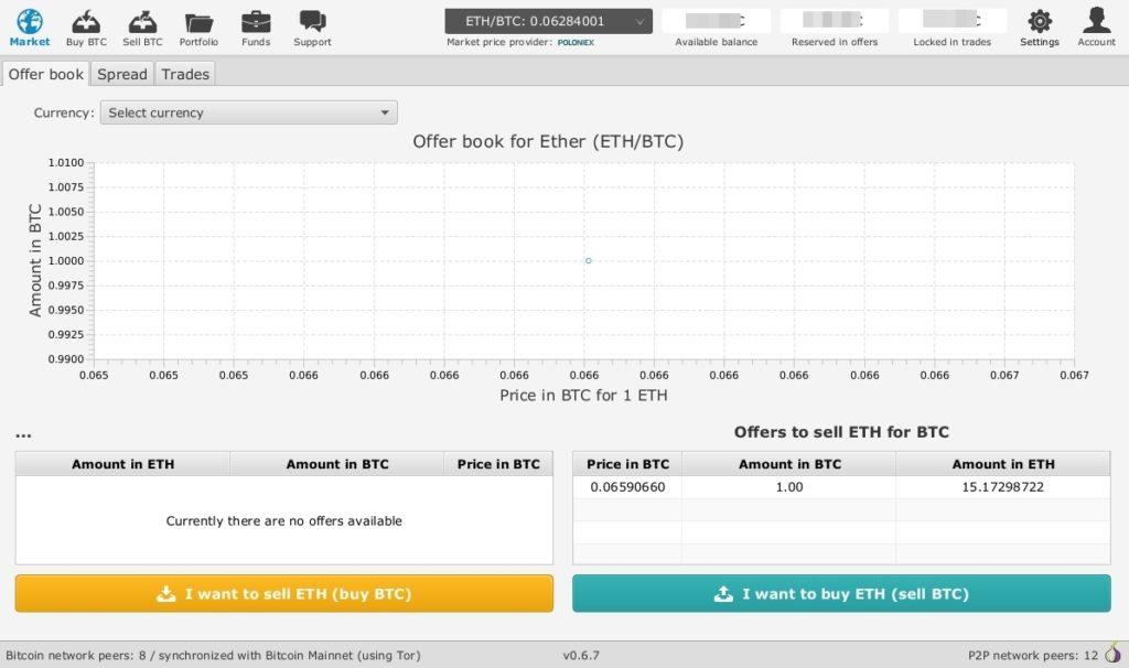 Bisq P2P Exchange